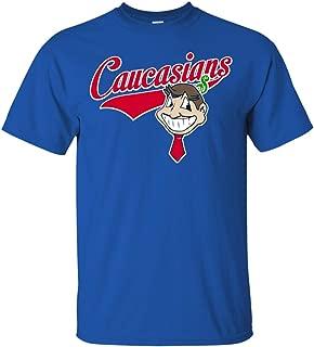 Caucasians Dollar Man Funny Cleveland Baseball T-Shirt