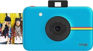 Polaroid Snap - Cámara digital instantánea tecnología de impresión Zink Zero Ink 10 Mp Bluetooth micro SD fotos de 5 x 7.6 cm azul