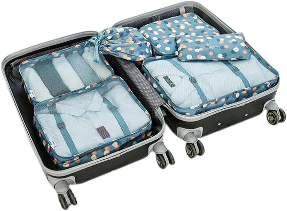 List price HiDay 7 Set Packing Cubes Luggage Tr for Organizers both Boston Mall
