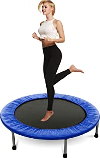EWORLD 40 Inch Mini Exercise Trampoline for Adults or Kids - Indoor Fitness Rebounder Trampoline