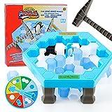 Pingüino Tocando Bloque de Hielo Bloques de construcción Juguetes para niños Medio pingüino 1 Set 19