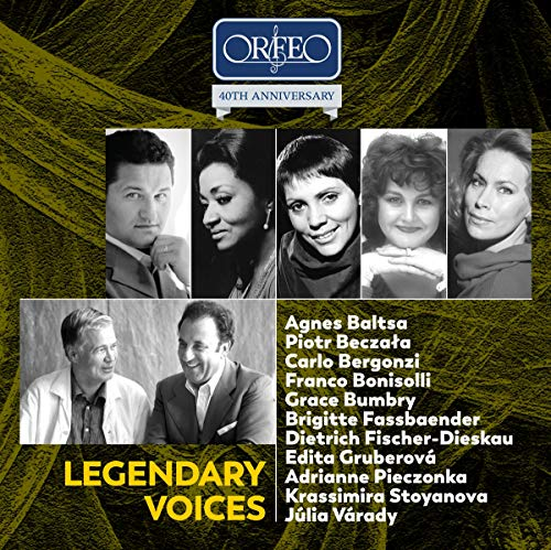Legendary Voices: ORFEO 40th Anniversary Edition [10 CD-Box]