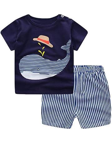 ced7419a8a547 LAZA ベビー Tシャツ ボーイズ 男の子 半袖 パンツ 靴下 3セット ショートパンツ 夏 可愛い 春