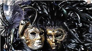 SGDDGF Arte de la Pared Pintura de la Lona Carteles, Máscaras de Carnaval de Venecia Decoración del hogar Pintura Etiqueta de la Pared 40X60 Sin Marco
