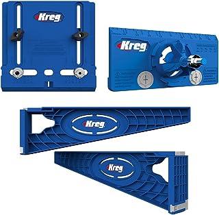 Kreg Tool Company – Drawer Slide Jig with Cabinet Hardware Jig and Concealed Hinge..