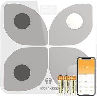 Bilancia Pesapersone Digitale Bilancia Pesapersone con Bluetooth Bilancia Pesa Persona Digitale con App - Misura Peso Corp...