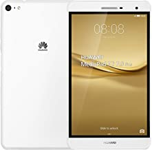 Huawei MediaPad T2 7.0 Pro 16GB 7-Inch Dual SIM Tablet Factory Unlocked - International Stock No Warranty (WHITE) - 2G only