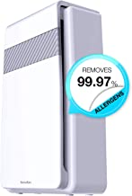 Kavalan HEPA Air Purifier and Ionizer (5-in-1) Negative Ion Generator and Filtration System Removes Dust, Smoke, Germs, Odors, Allergens, Pollen | Auto Timer, Ultra-Quiet