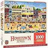 MasterPieces Hometown Gallery 1000 Puzzles Collection - On The Boardwalk 1000 Piece Jigsaw Puzzle
