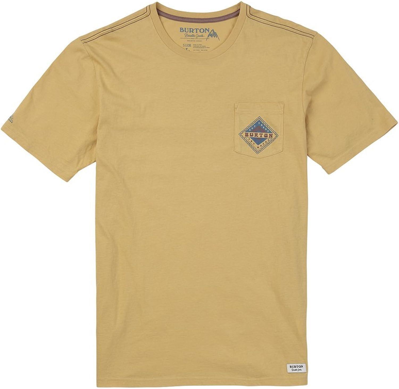 Burton Anchor Point Short Sleeve Tee, Mood Indigo, Large