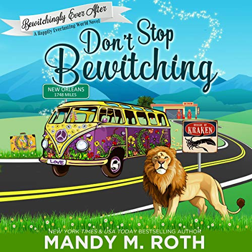 Don't Stop Bewitching audiobook cover art