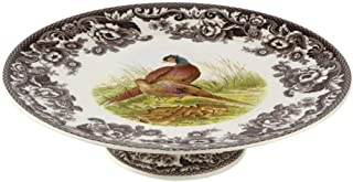 Spode Woodland Footed Cake Plate 10.5