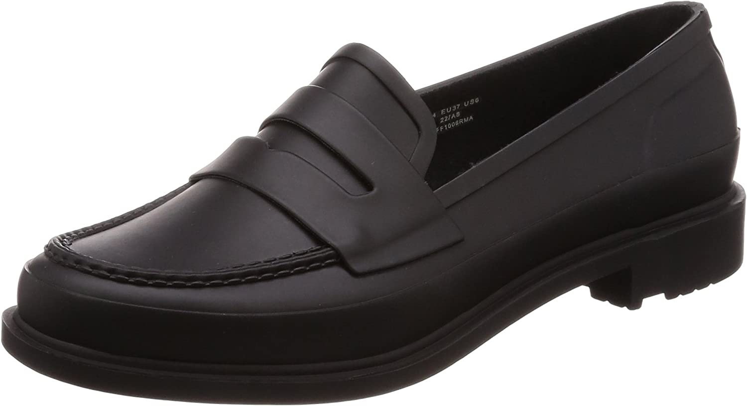 Hunter Womens Refined Penny Loafer Matte
