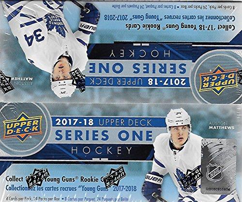 2017/18 Upper Deck NHL Hockey Series 1 Factory Sealed Unopened Retail Box