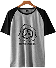 Lontime SCP Foundation Men's and Women's Short Sleeved Summer Shoulder with T-Shirts