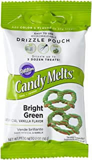 Wilton Candy Drizzles Pouch, Bright Green