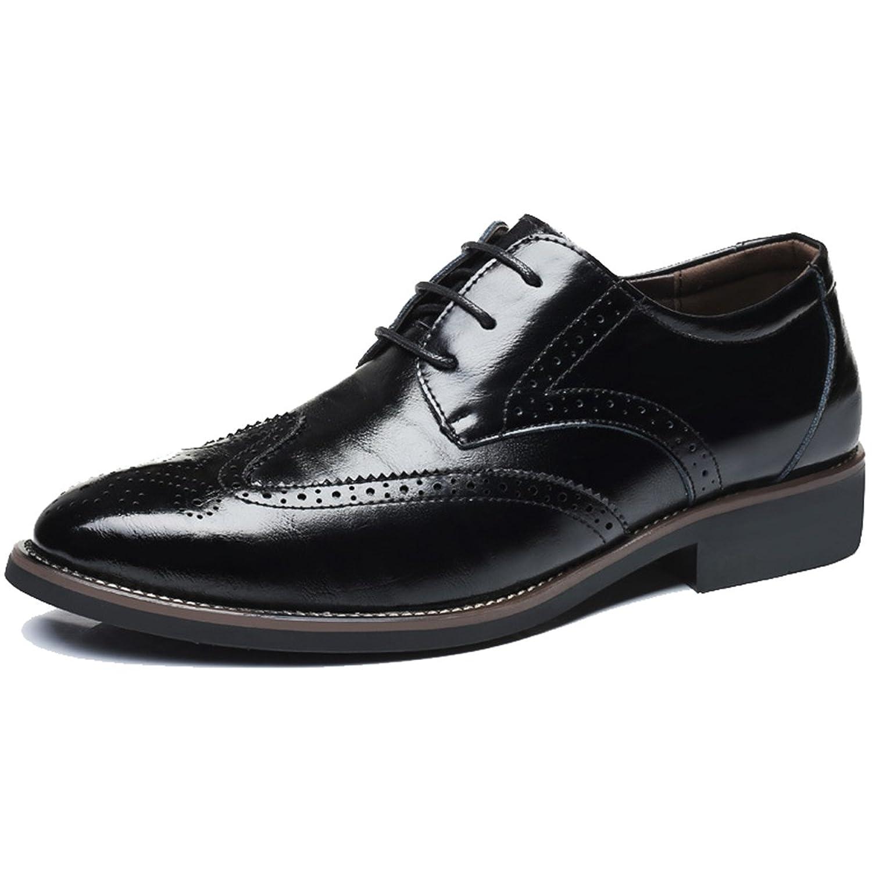 [フォクスセンス] 革靴 ビジネスシューズ 紳士靴 スリッポン ラウンドトゥ カジュアル メンズ 本革 通気性抜群 軽量 滑り止め 柔らかい