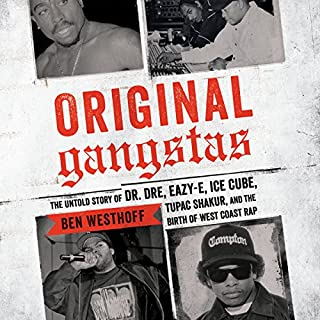 Original Gangstas audiobook cover art
