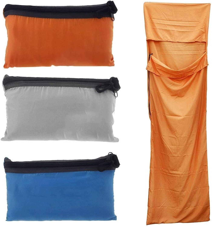 TOOMD TOOMD TOOMD Outdoor Schlaftasche Gute Qualität Polyester Pongee Schlaftasche Gesunder Campingplatz Wandersack Ultra-dünne Ultra-leichte Liner tragbare Falttaschen 70  210cm,Orange B07PKBJ2BV  Mode 12f2e9