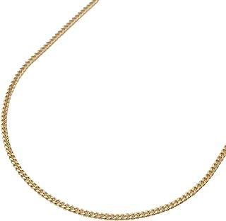 長さ調節可能 新品 メンズ 刻印 2.0mm幅 18金 ホワイトゴールド 60cm スライドアジャスター付き ロープチェーン ネックレス K18WG 022