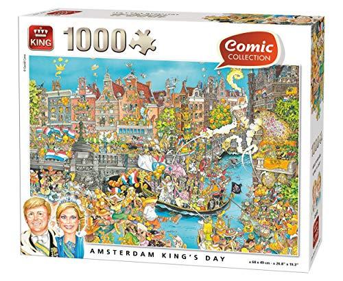 King Amsterdam King 's Day puzzel – 1000 stuks