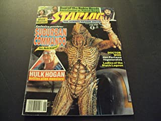 Starlog #167 June 1991 Suburban Commando, Hulk Hogan Fights Aliens