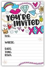 Best tween girl birthday party invitations Reviews