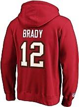 Fanatics - NFL Tampa Bay Buccaneers Iconische naam & Number Graphic Tom Brady Hoodie - Rood