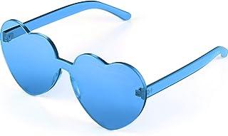 Maxdot Heart Shape Sunglasses Party Sunglasses