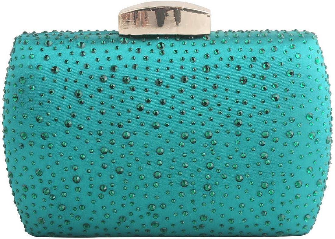 half LETODE Sparkling Crystal Evening Max 68% OFF Women Clutches Handbags