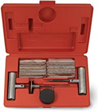 J&R Quality Tools Tire Repair Kit Set to Plug Flat and Punctured Tires | 35-Piece Set