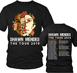 Shawn-Mendes-Flower-Floral-Music-Fan Tour-2019 We-Love-You T-shirt, Gift for Fan Unisex T-shirt - Premium T-shirt - Hoodie - Sweater - Long Sleeve - Tank Top