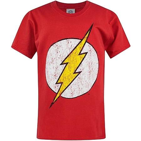 Flash Distressed Logo Boy's T-Shirt
