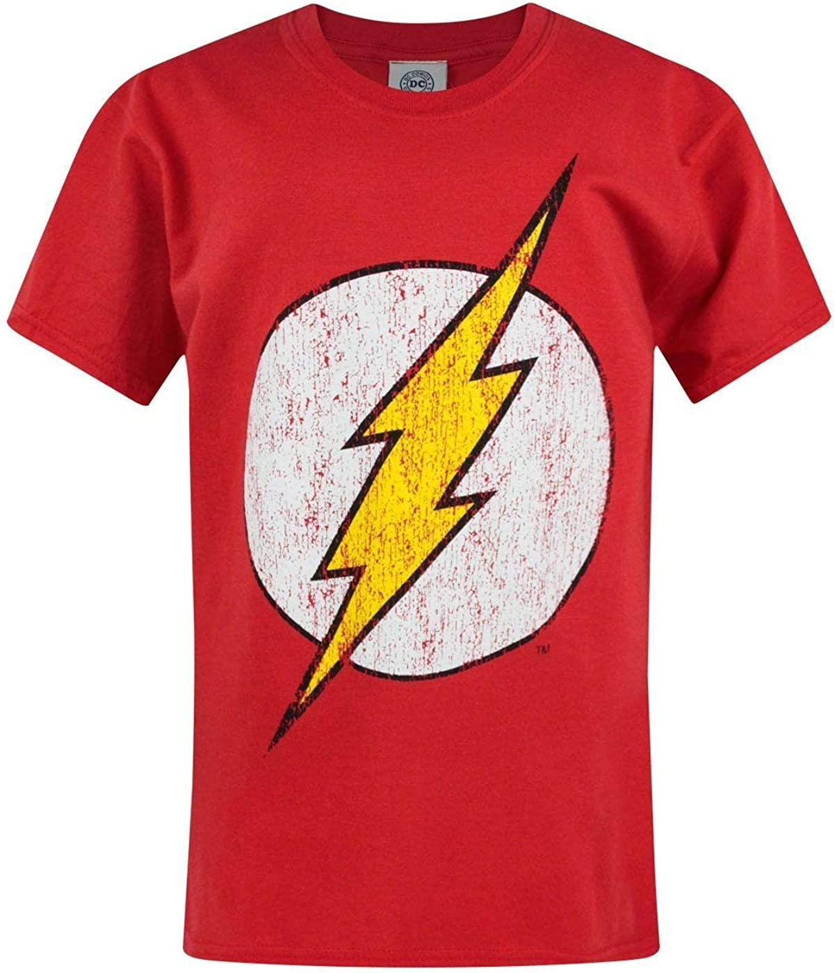 Some reservation Flash T-Shirt for Boys Save money Distressed Short Children†Logo Sleeve