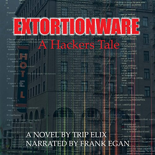 Extortionware audiobook cover art