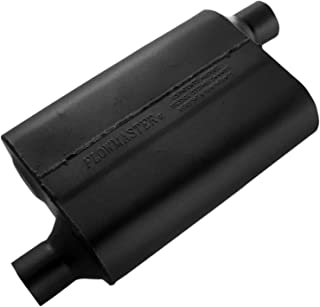Flowmaster 42443 40 Series Muffler - 2.25 Offset IN / 2.25 Offset OUT - Aggressive Sound