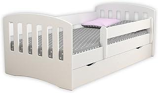 comprar comparacion Children's Beds Home Single Bed Classic 1 - para niños Niños Niños pequeños con cajones y colchón de Espuma de 8 cm Inclui...
