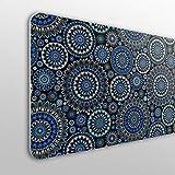 MEGADECOR Cabecero Cama PVC 10mm Decorativo Económico. Bayonne (200cm x 60cm)