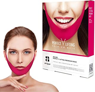 Sponsored Ad - Avajar Perfect V Lifting Premium Mask 5pcs - V Line Mask | Face Lifting Mask | Face Slimmer | Chin Strap Fo...