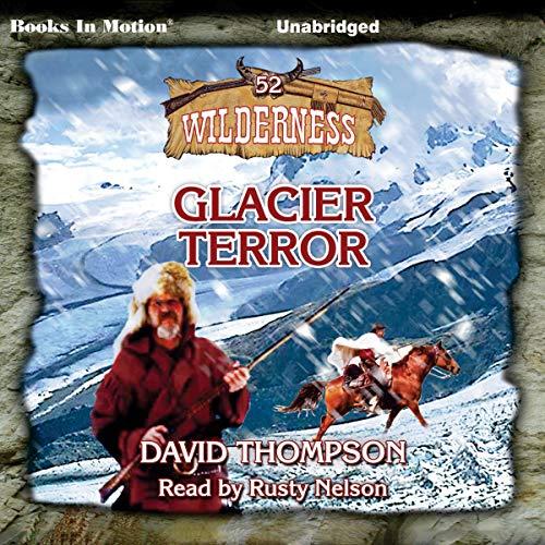 Glacier Terror audiobook cover art