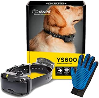 Dogtra YS600 No Bark Collar - Rechargeable, Waterproof, Durable, Lightweight - Personalize Stimulation Levels - Effective ...