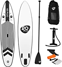 Goplus Expedition Inflatable Stand Up Paddle Board SUP for Professional Racing, 6