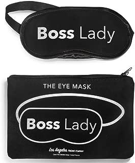 LA Trading Company Boss Lady Sleep Mask, Best Sleeping Eye Mask, Eye Cover for Travel, Meditation, Nap, Blindfold for Men or Women, Blind Fold