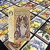 Victorian Fairy Tarotカード、Solitaire Tarot Deckオラクルカードタロットファミリーパーティーゲーム占いデスティニーデッキゲーム(英語)