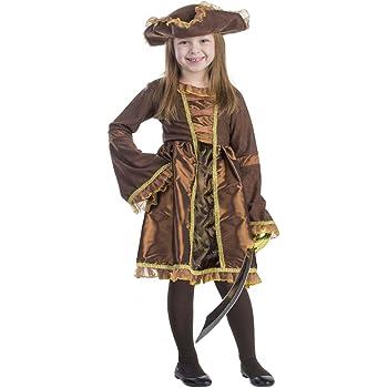 Viste a América - M-797 - Disfraces de pirata para niñas - 8-10 ...
