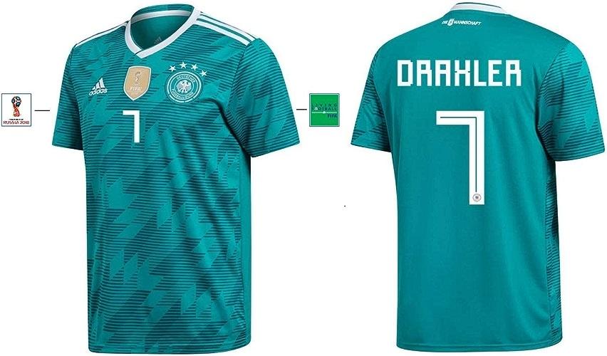 DFB Maillot pour Homme WM 2018 Away – Draxler 7