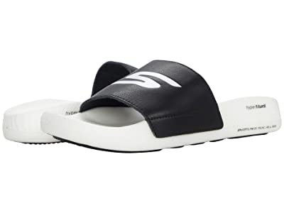 SKECHERS Go Hyper Slide (Black/White) Men