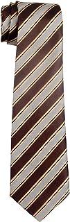Preppy Stripe Pattern Woven Boy's Tie - 8-10 years - Various Colors