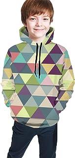 Colorful Tie Dye Kids/Teen Boys Girls Hoodie,3D Print Pullover Sweatshirts