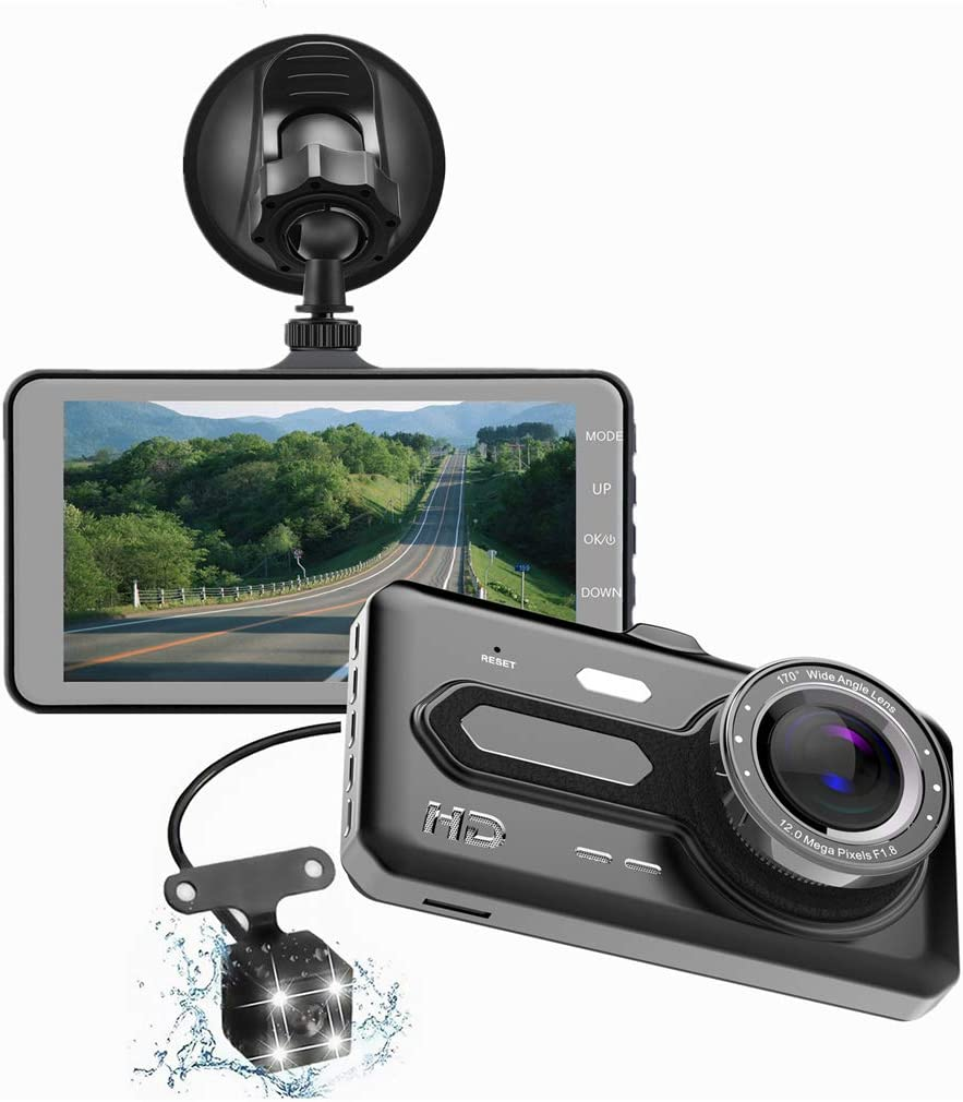 Car Baltimore Mall Dash New Orleans Mall Cam Full HD Dual Inch Screen Camera 4 1080P Touch